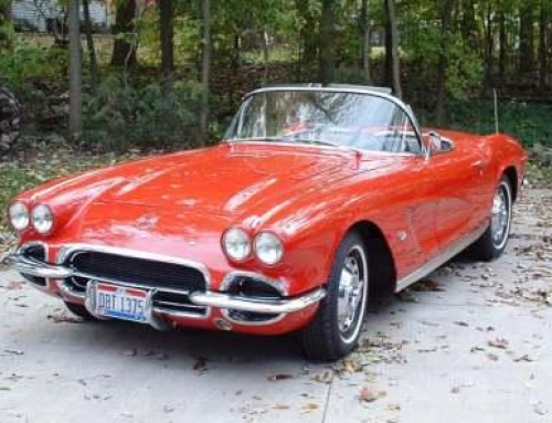 Joe Frish 1962 Corvette